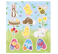 50 Easter Pre Filled Gift Bags Wholesale (YO)